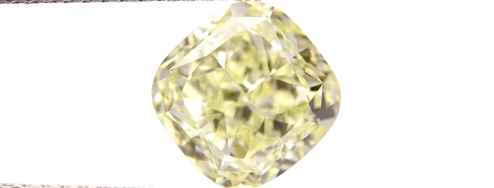 YELLOW DIAMONDS 2.40 CT FANCY LIGHT YELLOW VVS-1