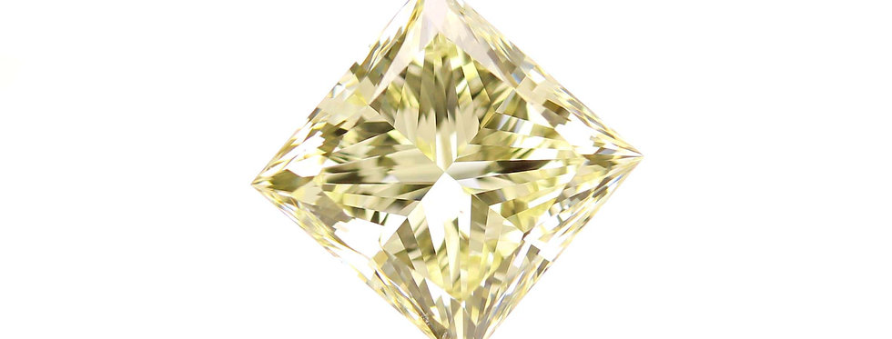 YELLOW DIAMONDS 1.70 CT  FANCY  LIGHT YELLOW VS-2