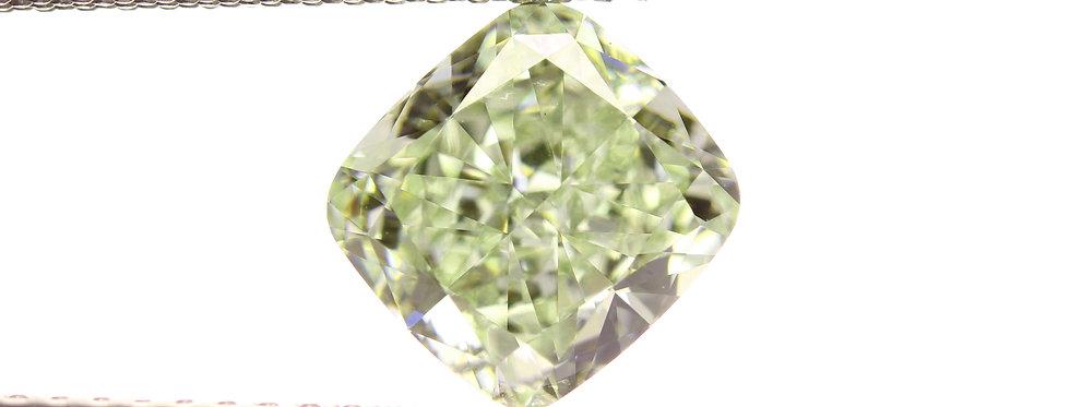 GREEN DIAMONDS 2.05 CT FANCY YELLOWISH GREEN VS-1