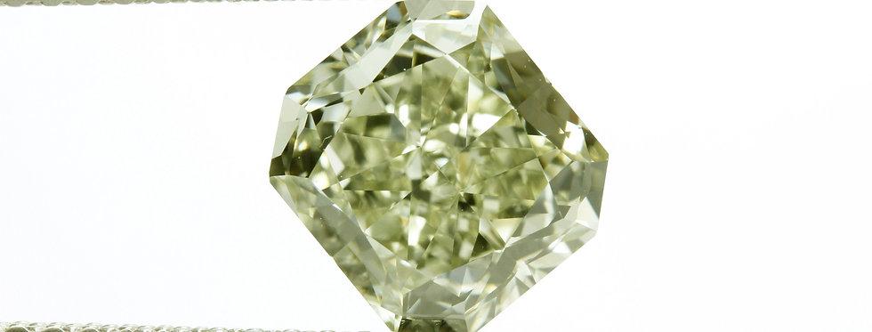 CHAMELEON DIAMOND 1.73 CT FANCY- G-Y-GREEN VVS-2