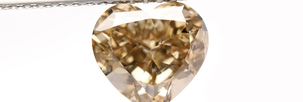 BROWN DIAMOND 1.60 CT FANCY YELLOW BROWN VS-2