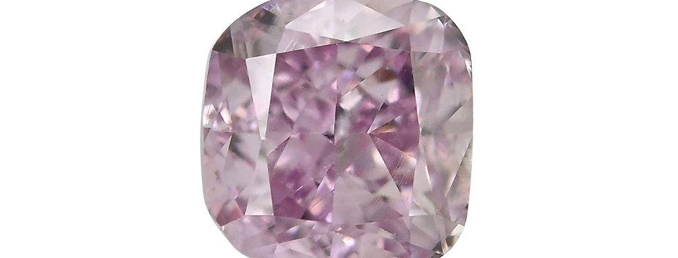 PURPLE DIAMOND 0.50 CT FANCY PINK PURPLE SI-1