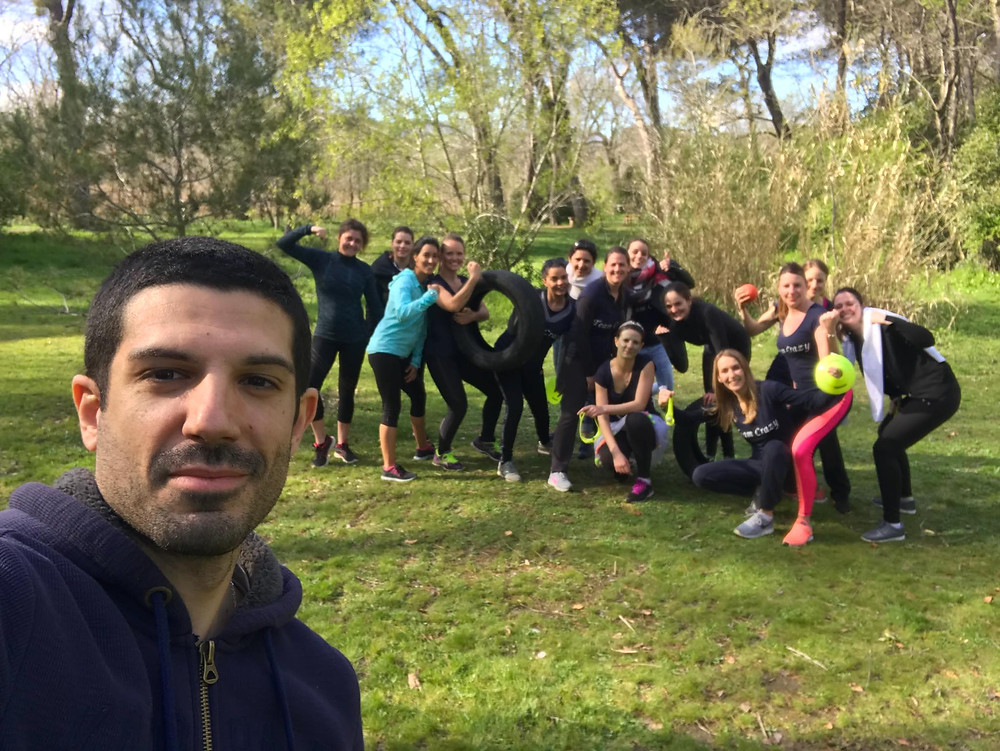 Yohann Aimard personnal trainer