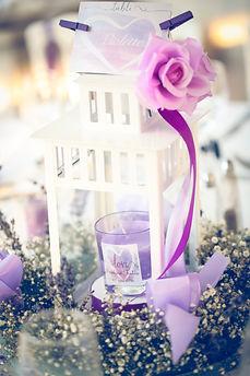 Décoration mariage lanterne