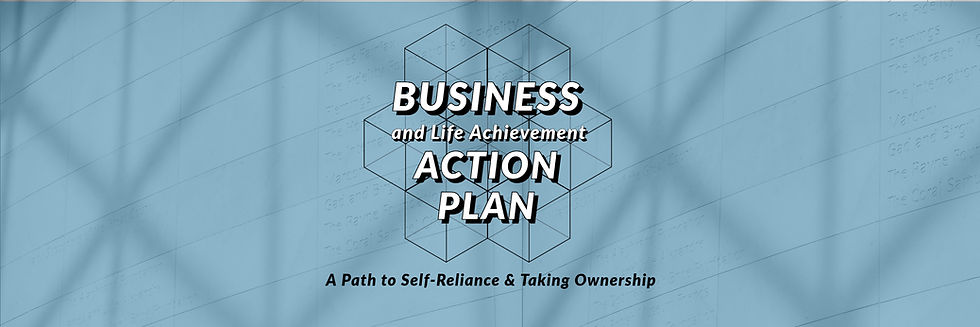 Business & Life Action Plan Banner1 Copy
