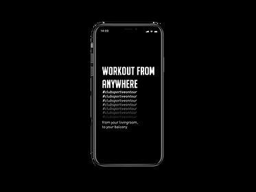 iPhone X APP workout-from-anywherekopie.