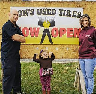 Ron's Tires in Winchester, VA Now Open Banner