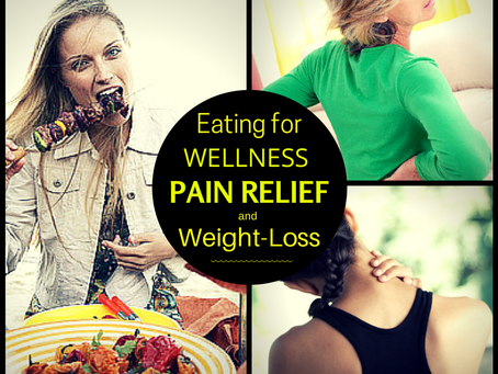 Eating for pain relief + wellness + weight-loss