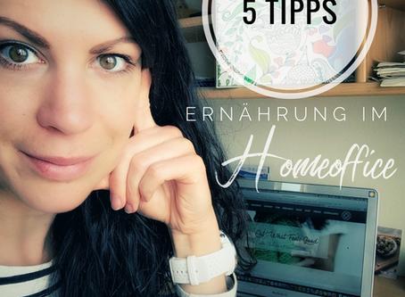 5 Tipps: Ernährung im Homeoffice