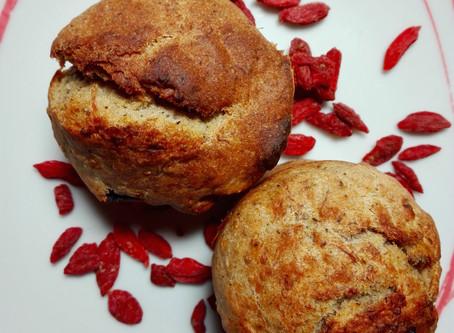 """Chia-Goji Muffins - selbstgemachte """"Energiebombe"""""""