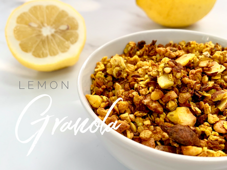 Lemon Granola