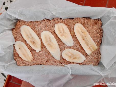 Veganes Bananenbrot mit Erdmandeln