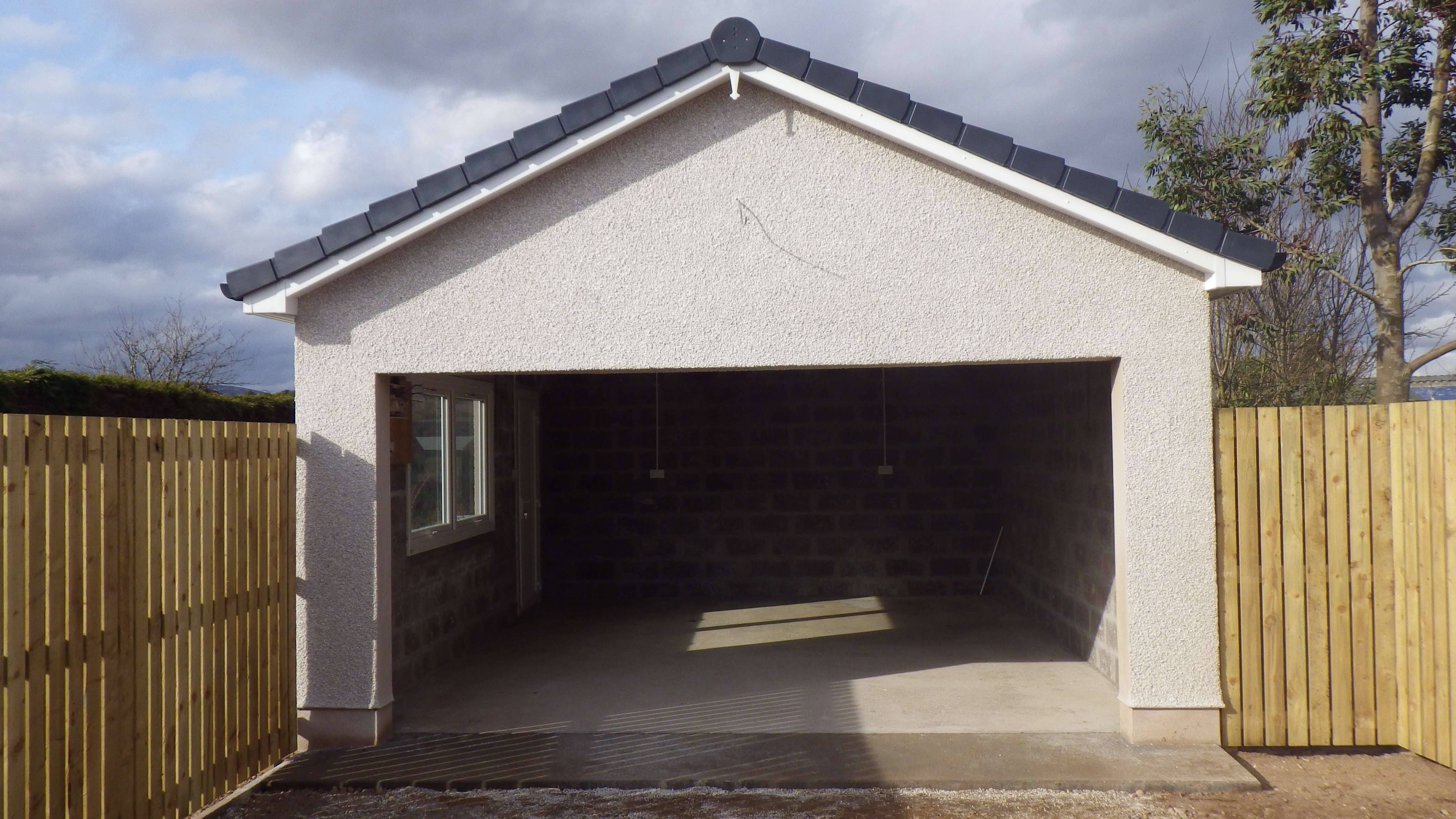 New Garage Build Kirriemuir