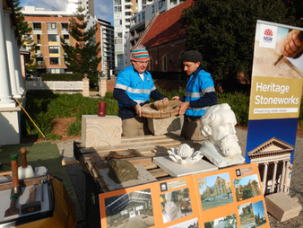 Heritage Stoneworks Team