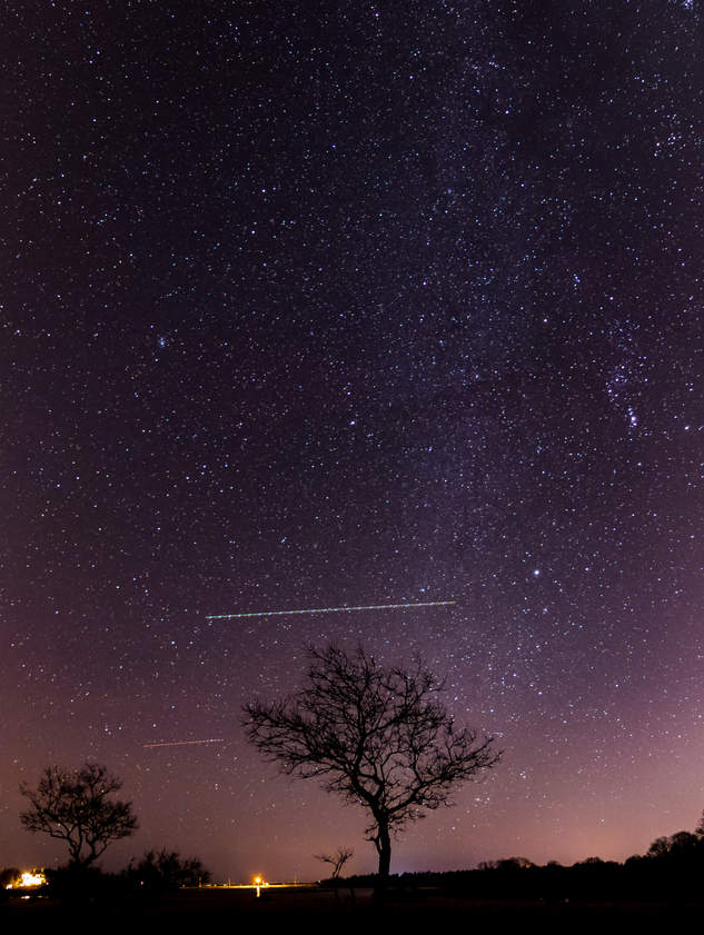 30 sec at f / 2.8 ISO 1600 Vertical Panoramic