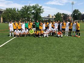 Elites United & UK team at Randals Island NY 2018
