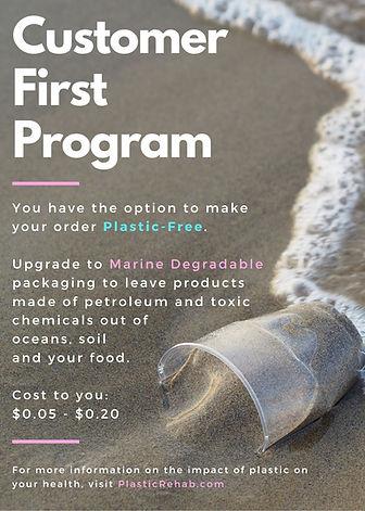 Customer First Program Plastic Rehab