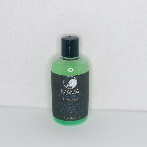 Wild Green Herb ~body wash~ 8oz