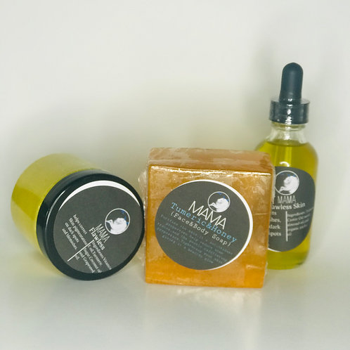Flawless skin set-2oz(oil)