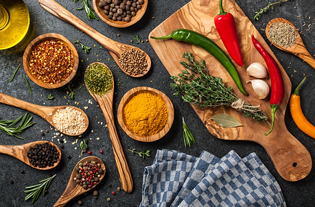 cooking-table-with-spices-and-herbs-1083