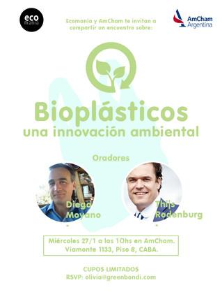 Charla sobre bioplásticos