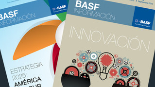 Revista interna para BASF BCSur