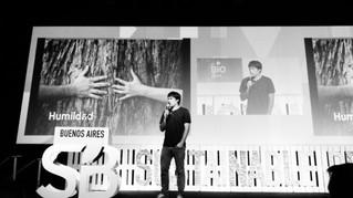 Lucas Campodónico fue orador en SB'16 Buenos Aires