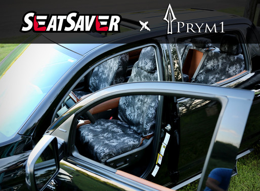 Protect Your Truck Seats This Summer With Prym1 Camo x SeatSaver Covers