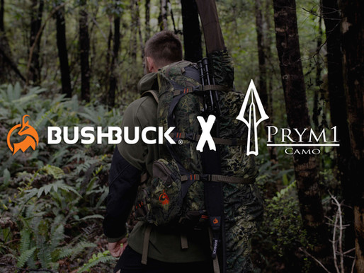 Prym1 Camo® announces partnership with Kiwi outdoor e-commerce clothing & gear company, Bushbuck NZ.