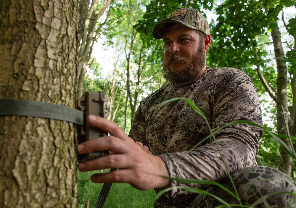 placing out the perfect trail camera