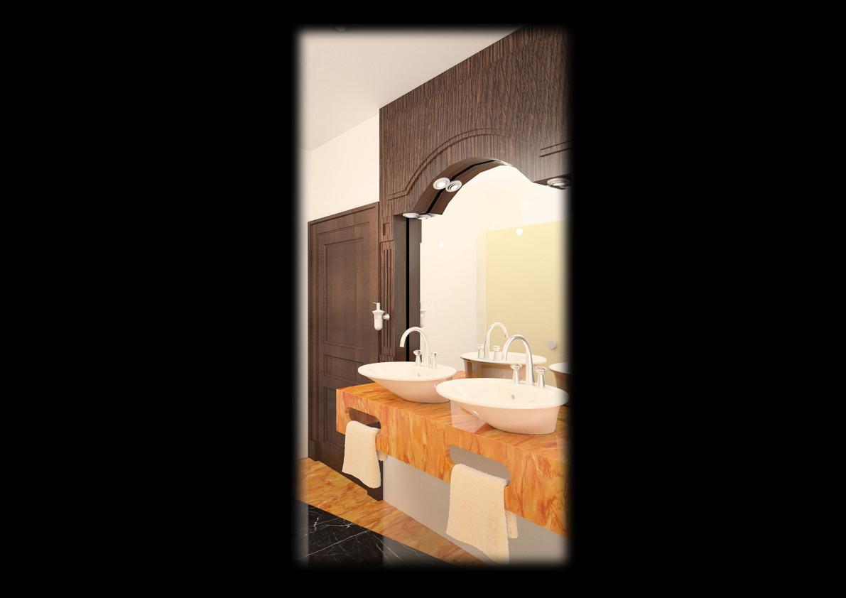 Kuwait Embassy Bathroom
