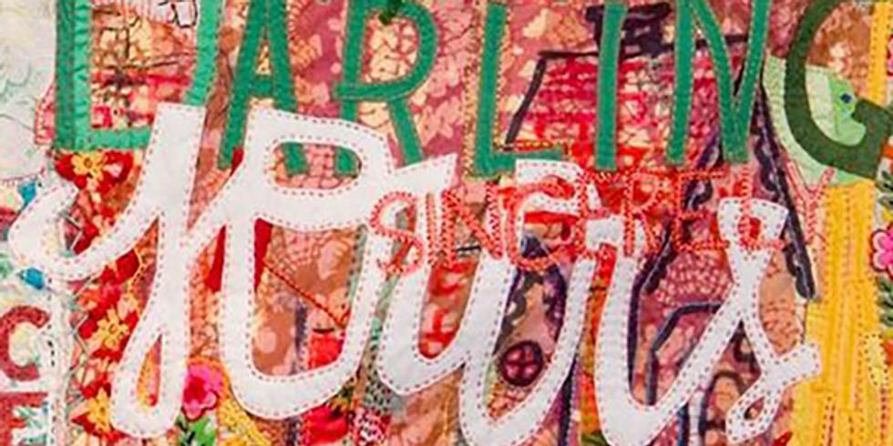 Escribir en textil: superficies intervenidas