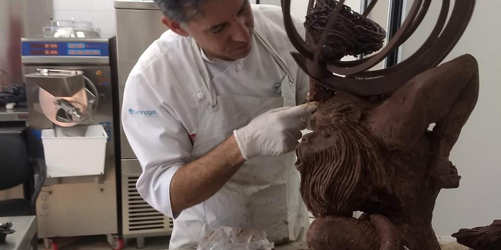 Iniciación a la escultura en chocolate