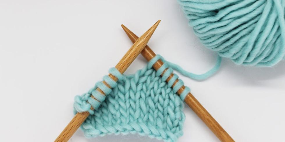 Tejido en dos agujas y crochet