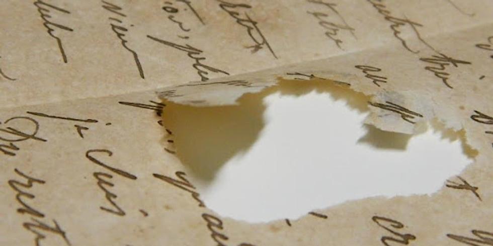 Técnicas básicas en conservación y restauración de obras gráficas sobre papel