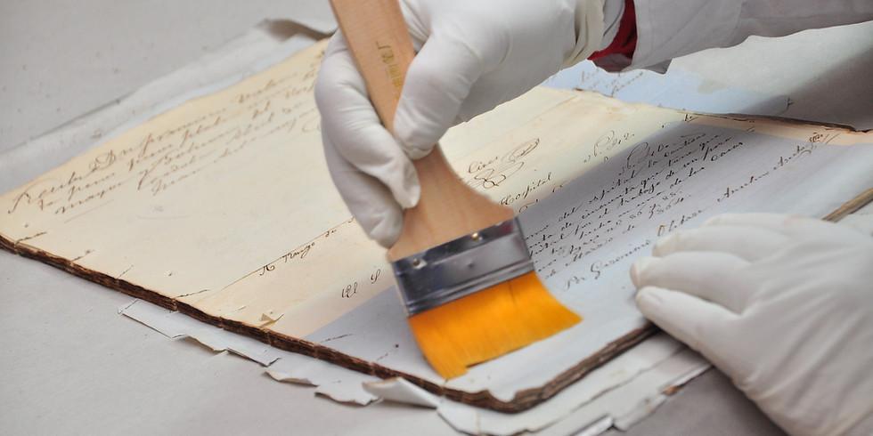 Restauración y conservación de Libros