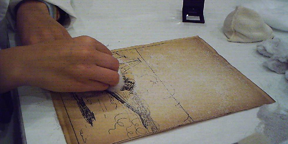 Conservación Preventiva y Restauración de papel (Módulo II)
