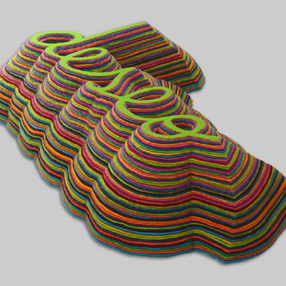 Escribir en textil: La Tridimensión