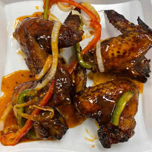 Mango Harberno Chicken Wings