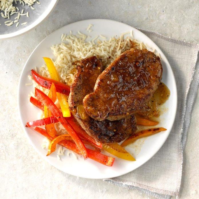 #8: Jamaican Jerk Pork Chops
