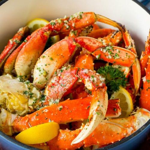 #5: Caribbean Crab-Legs Combo