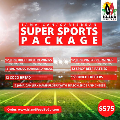Jamaican Sports Package