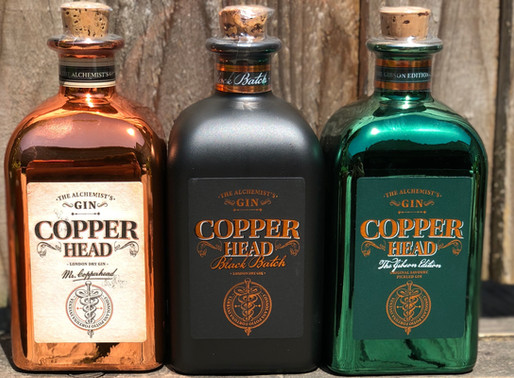 Copperhead Gin, Copperhead Gin & Copperhead Gin