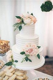 Ripple Buttercream Cake