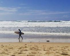 plage du sud-ouest médoc
