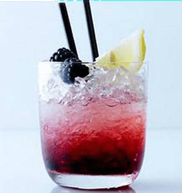 Blackberry Sage & Lime Cocktail