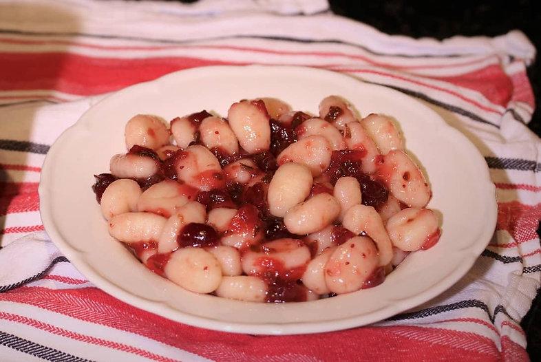 Gnocchi with Cranberry Jalapeño
