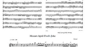 Musical April Fools