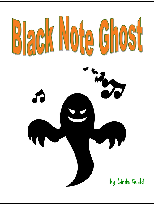 Black Note Ghost Music and Lead