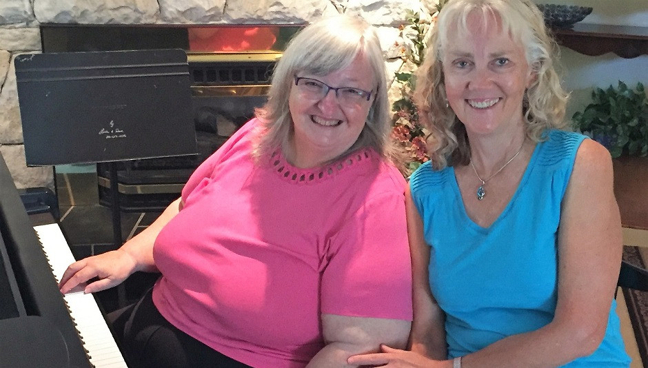 Ruth's Piano Chord lessons with Linda Gould